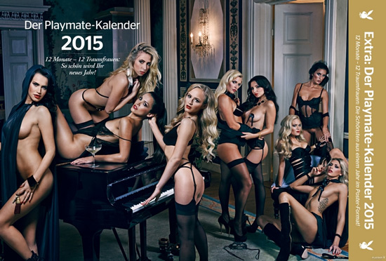 German Playmates Calendar 2015 free download