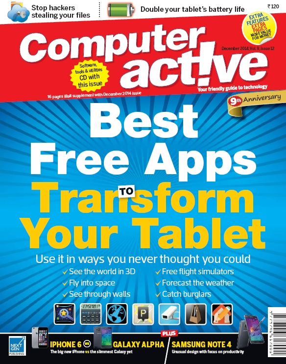Computer Active India - December 2014 free download