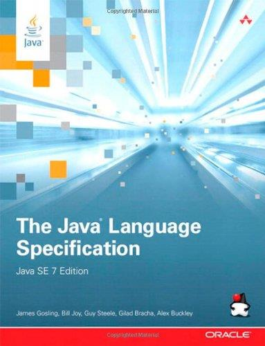 The Java Language Specification, Java SE 7 Edition free download