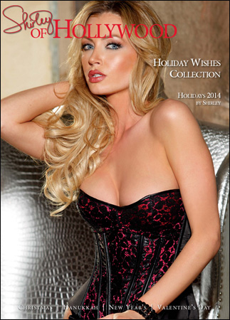 Shirley Of Hollywood - Lingerie Holiday Wishes Collection Catalog 2014-2015 free download