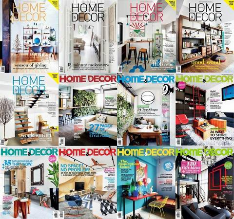 Home & Decor Singapore Magazine 2014 Full Collection free download
