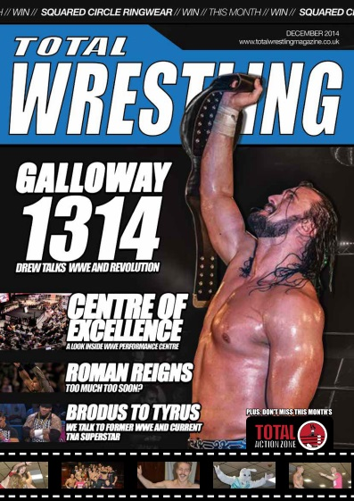 Total Wrestling Magazine - December 2014 free download