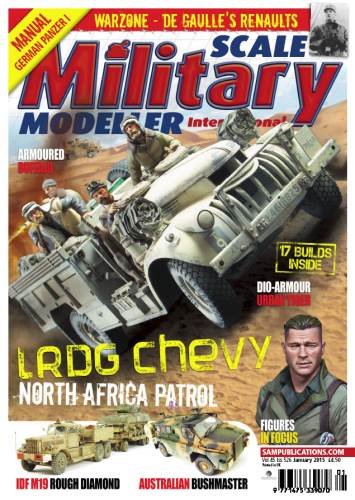 Scale Military Modeller International - January 2015 free download