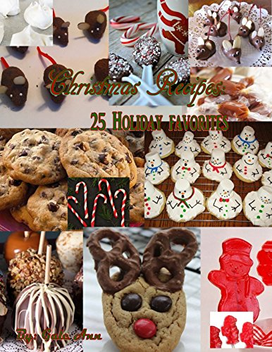 Christmas Recipes: 25 Holiday Favorites (Cooking With Gale Ann Book 1) free download