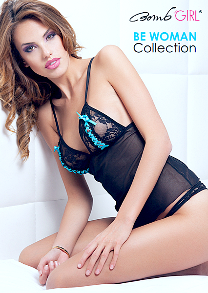 Bomb Girl - Be Woman Lingerie Collection 2014 free download