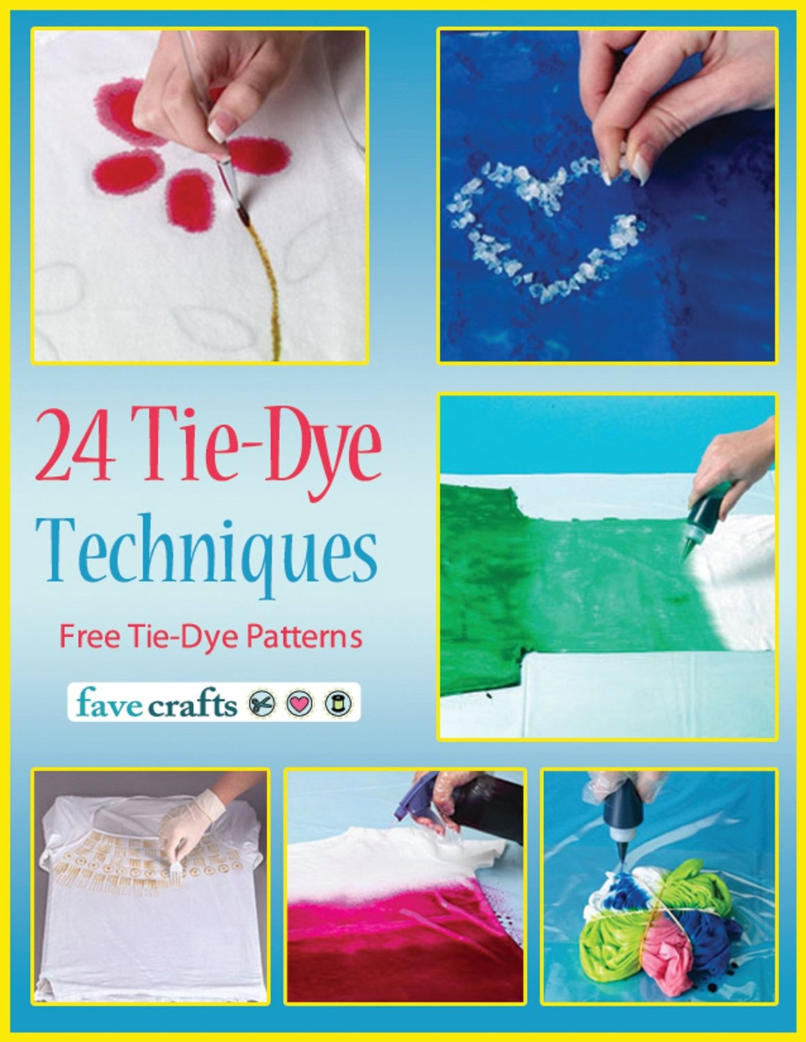 24 Tie-Dye Techniques: Free Tie-Dye Patterns free download