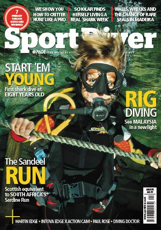 Sport Diver UK Magazine January 2015 free download