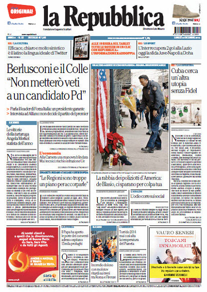 La Repubblica - 22.12.2014 download dree