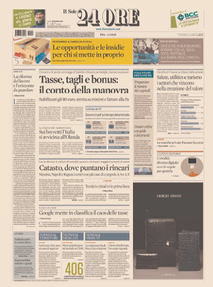 Il Sole 24 Ore - 22.12.2014 free download