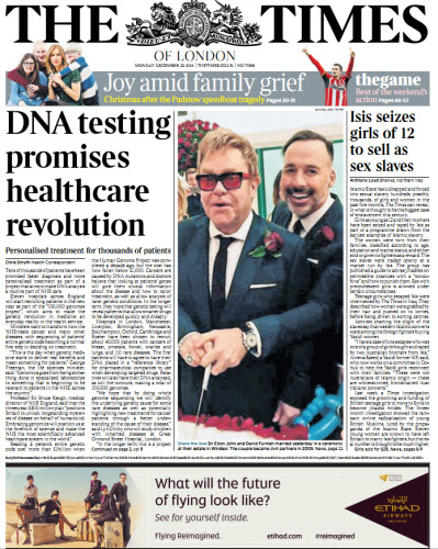 The London Times December 22 2214 download dree