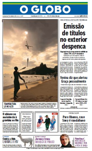 O Globo - 22/12/2014 - Segunda download dree