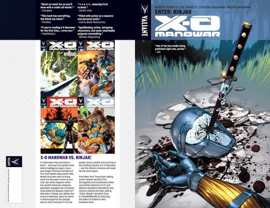 X-O Manowar v02 - Enter Ninjak (2013) free download