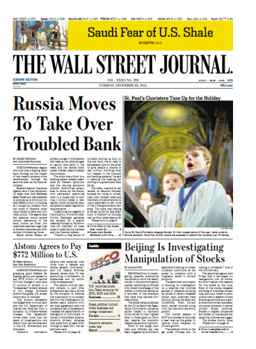 The Wall Street Journal (Europe) December 23 2314 free download