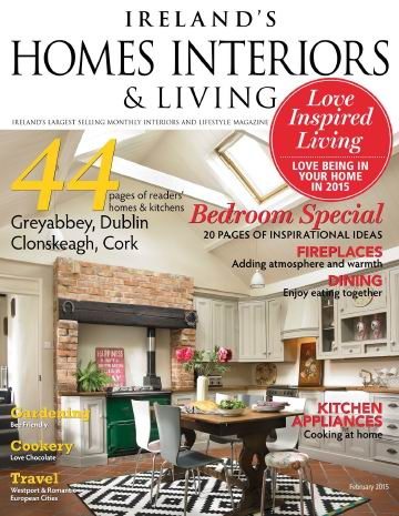 Ireland's Homes Interiors & Living Magazine February 2015 free download