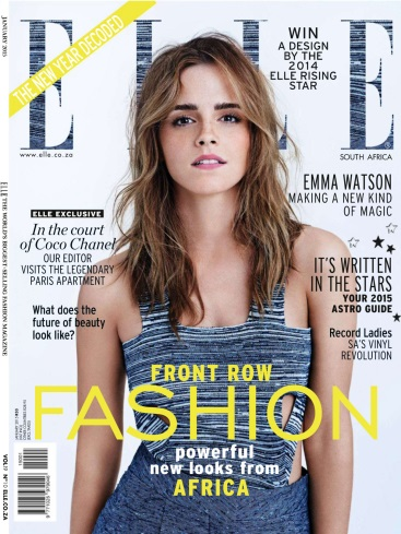 Elle South Africa - January 2015 free download