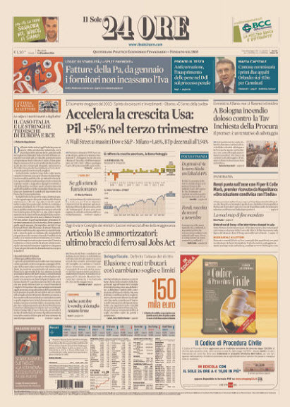 Il Sole 24 Ore - 24.12.2014 free download