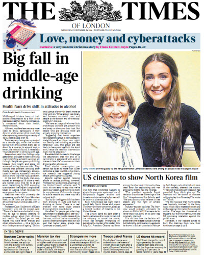 The London Times December 24 2414 free download