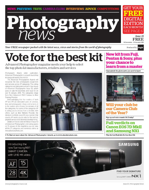 Photography News - 16 December 2014-19 January 2015 free download