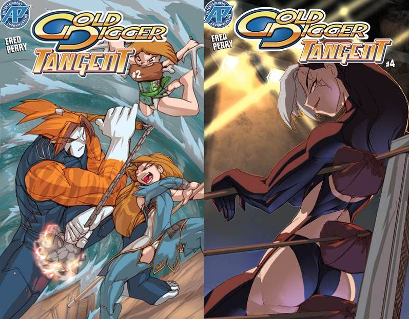 Gold Digger Tangent #2-4 (2006-2008) free download