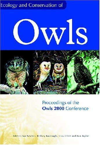 Ecology and Conservation of Owls by Ian Newton download dree