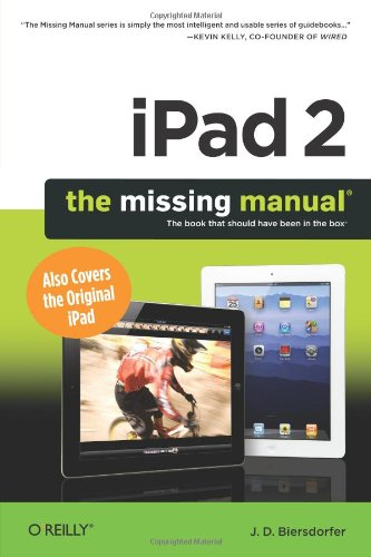 iPad 2: The Missing Manual, 2 edition download dree