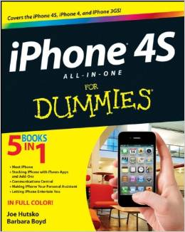 iPhone 4S All-in-One For Dummies free download