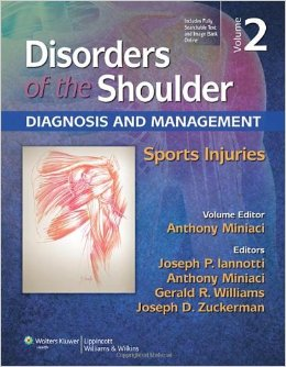 Disorders of the Shoulder, Volume 2: Sports Injuries, 3rd edition free download