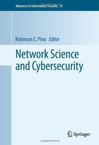 Network Science and Cybersecurity (Advances in Information Security) free download