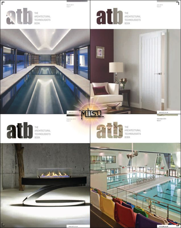 The Architectural Technologists Book (at:b) - Full Year 2013 Issues Collection free download