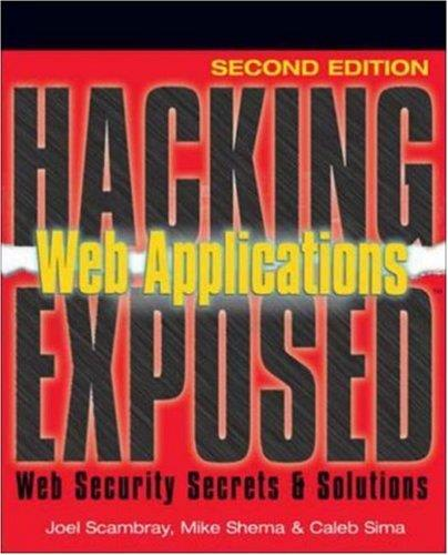 Hacking Exposed Web Applications, 2nd edition free download