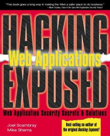 Web Applications (Hacking Exposed) free download