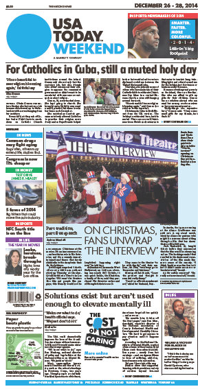 USA Today Weekend Edition 26 - 28 December 2014 free download
