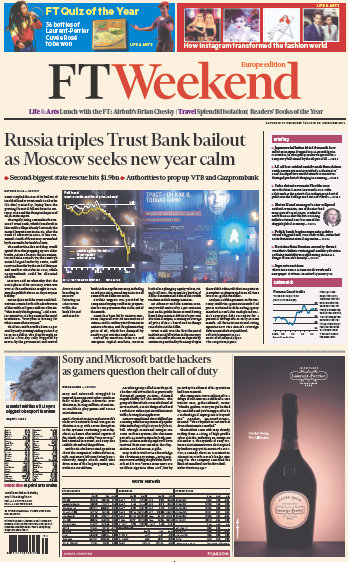 Financial Times Europe Weekend Edition 27 - 28 December 2014 free download