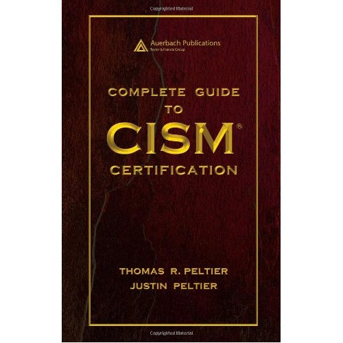 Complete Guide to CISM Certification free download