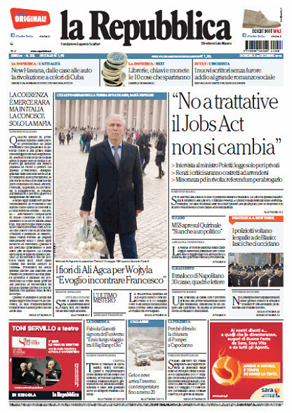La Repubblica - 28.12.2014 free download