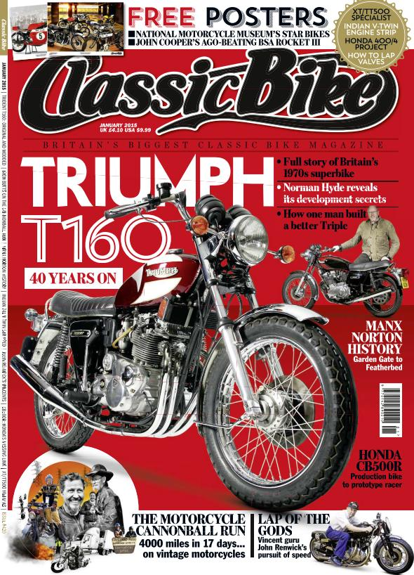 Classic Bike - January 2015 free download