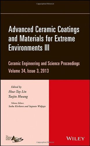 Advanced Ceramic Coatings and Materials for Extreme Environments III free download