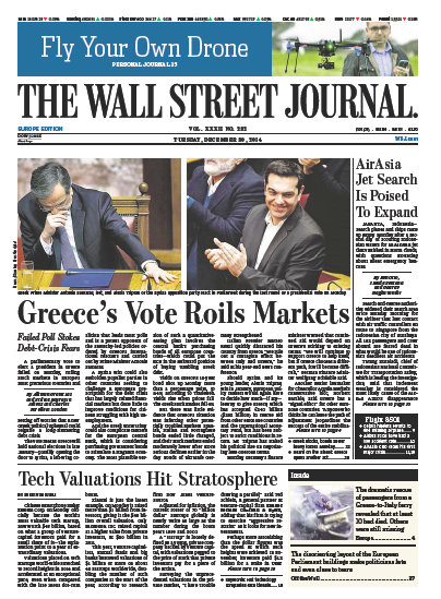 Wallstreet Journal Europe December 30 2014 download dree
