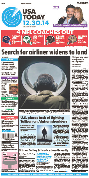 USA Today 30 December 2014 free download