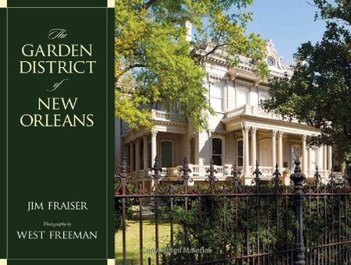 The Garden District of New Orleans free download