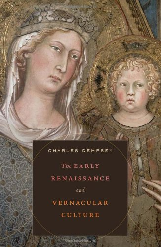 The Early Renaissance and Vernacular Culture free download