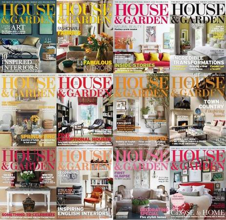 House & Garden Magazine 2014 Full Collection free download
