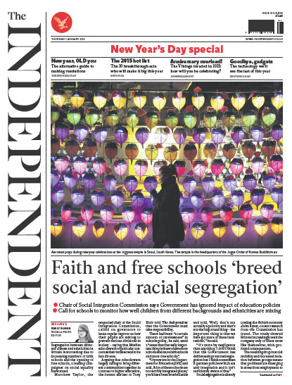 The Independent 1 January 2015 free download