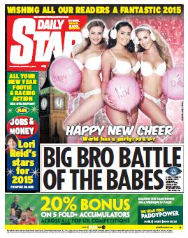 DAILY STAR - 1 Thursday, January 2015 free download