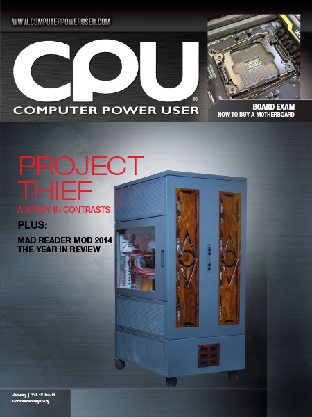 Computer Power User - January 2015 free download