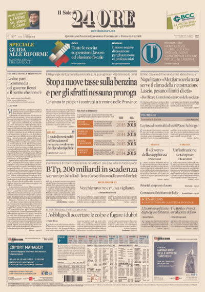Il Sole 24 Ore - 02.01.2015 free download