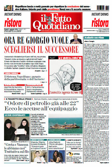 Il Fatto Quotidiano - 02.01.2015 free download