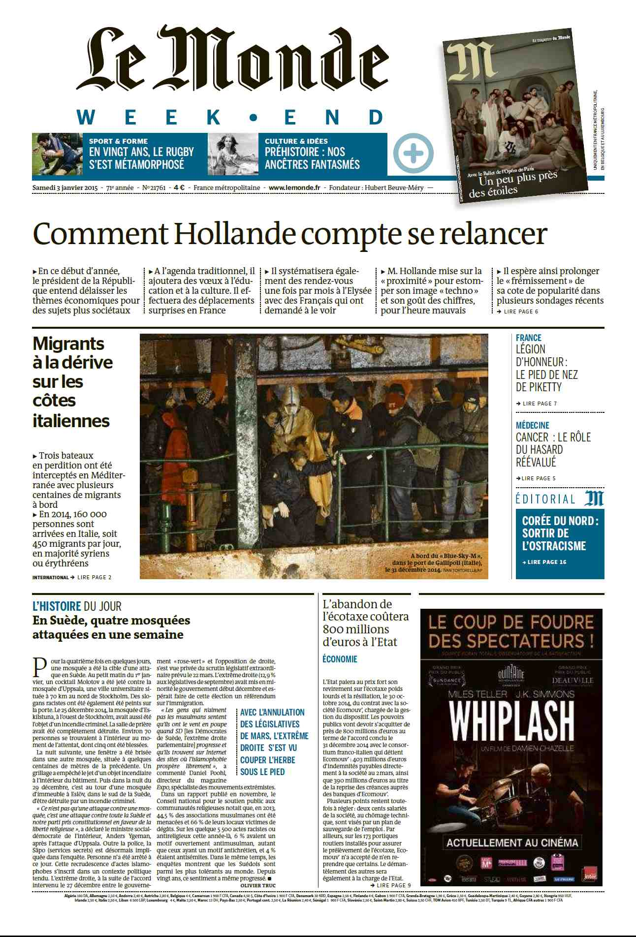 Le Monde du 03 Janvier 2015 free download
