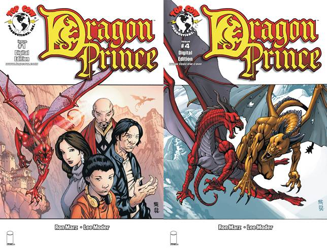 Dragon Prince #1-4 (2011) Complete free download
