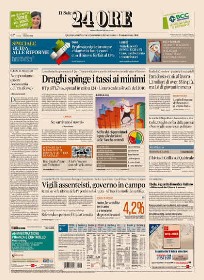 Il Sole 24 Ore - 03.01.2015 free download